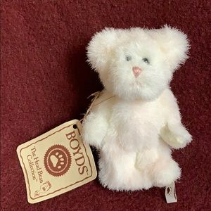 Boyd's Bear in Heart 2006 small doll jointed
